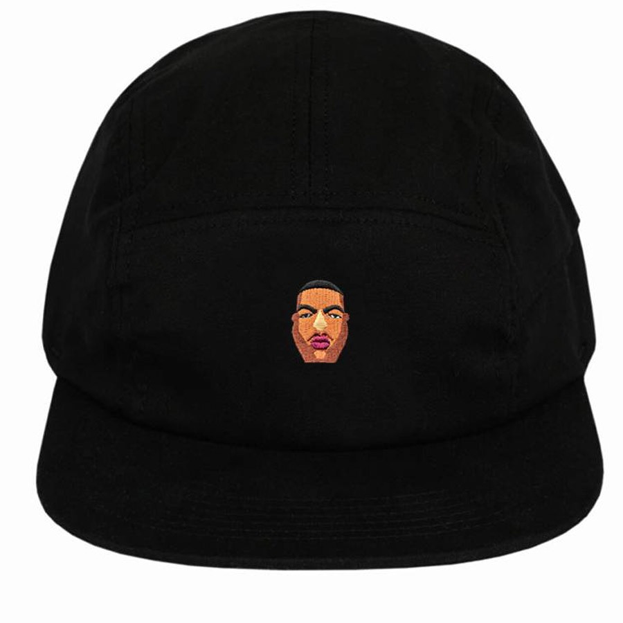 Boné 5 Panel Notorious Big Preto