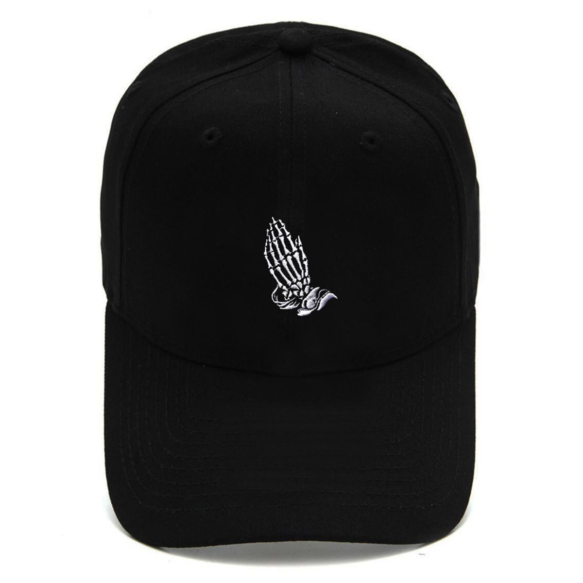 Boné Strapback Dad Hat Aba Curva Blessed Preto