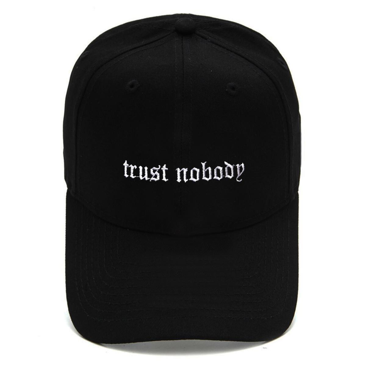 Boné Strapback Dad Hat Aba Curva Trust Nobody Preto