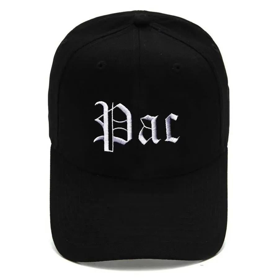 Boné Strapback Dad Hat Aba Curva Tupac Shakur Preto