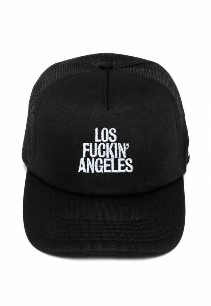 Boné Trucker Los Fuckin Angeles