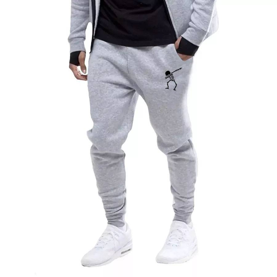 Calça Moletom Masculina Skull Movement Hip Hop