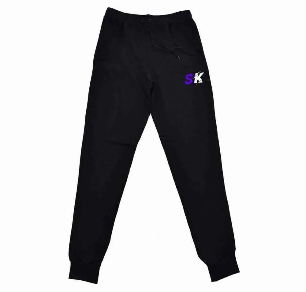 Calça Moletom Skull Purple