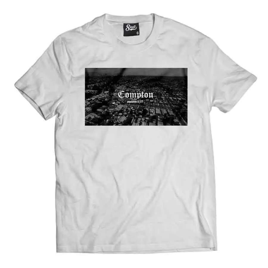 Camiseta Compton Population