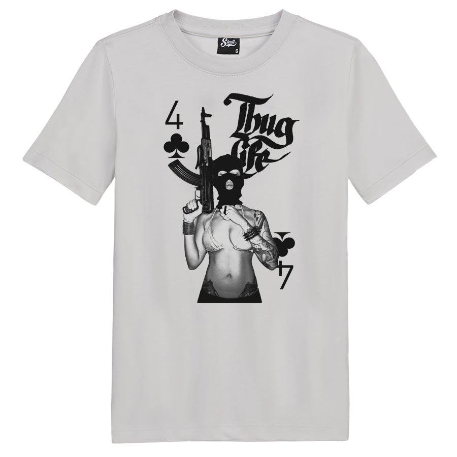 Camiseta Girl Thug Life