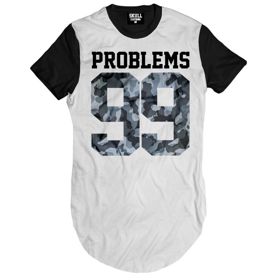 Camiseta Longline 99 Problems