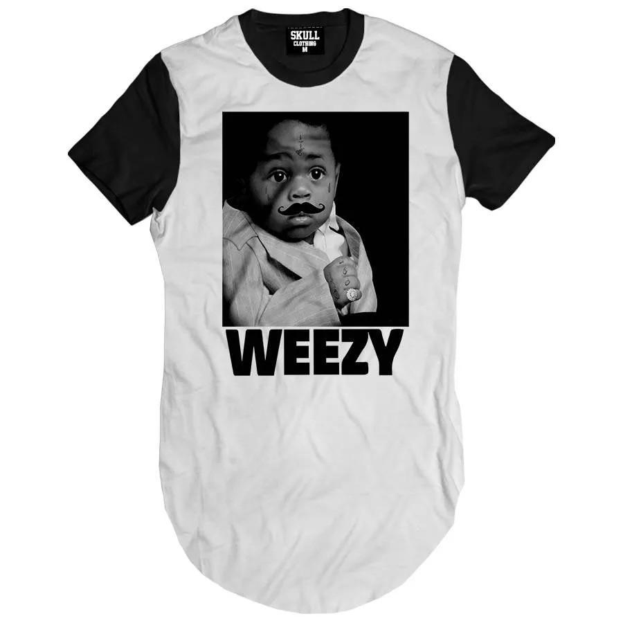 Camiseta Longline Baby Weezy