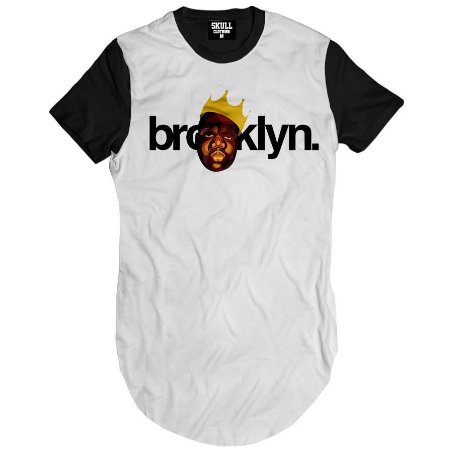 Camiseta Longline Biggie Brooklyn