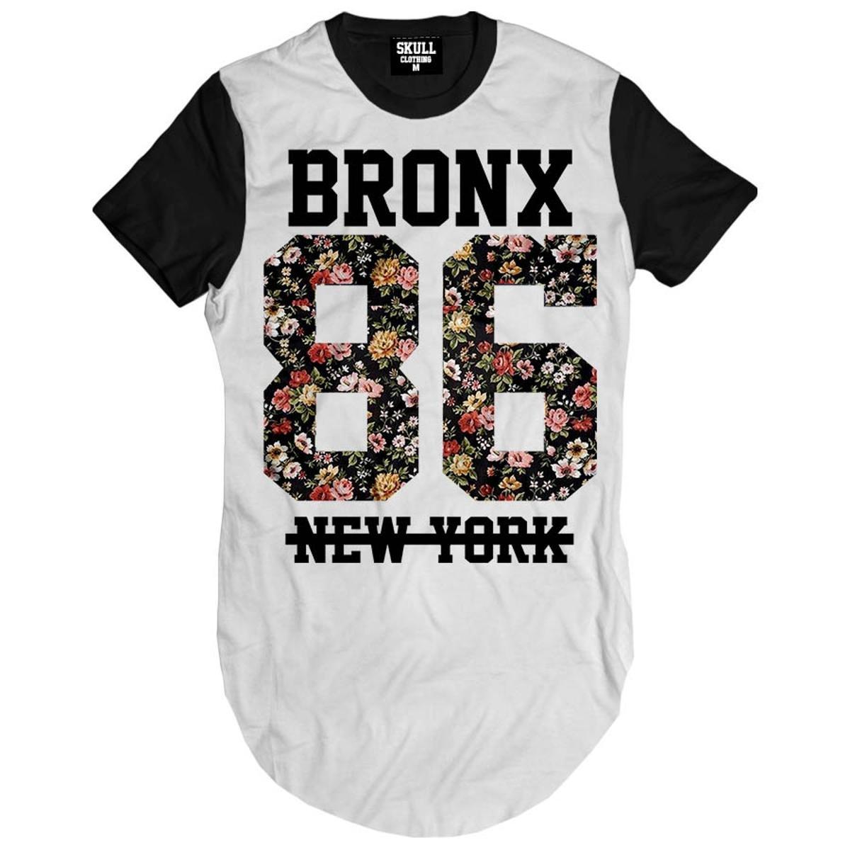 Camiseta Longline Bronx 86 New York