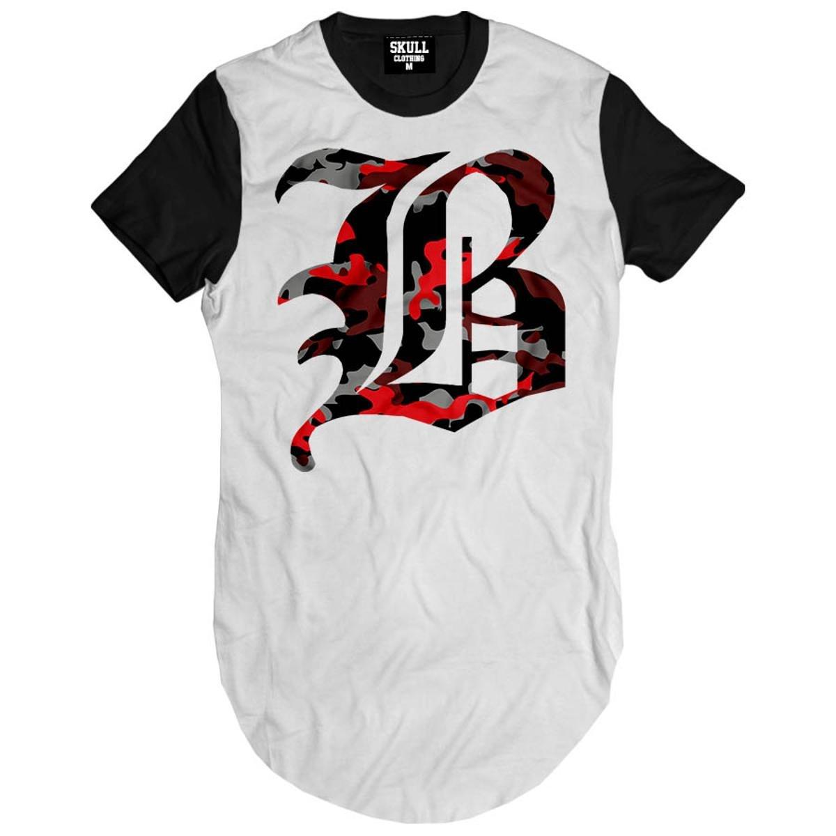 Camiseta Longline Brooklyn Camuflado