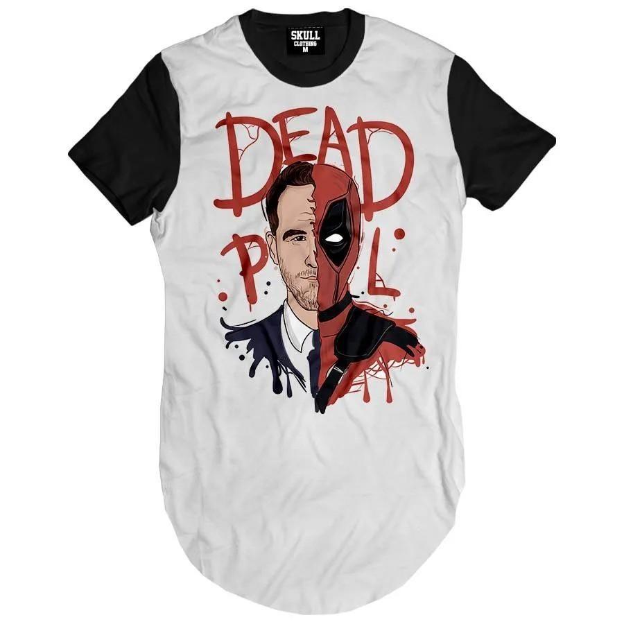 Camiseta Longline Deadpool