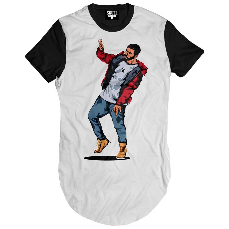 Camiseta Longline Drake