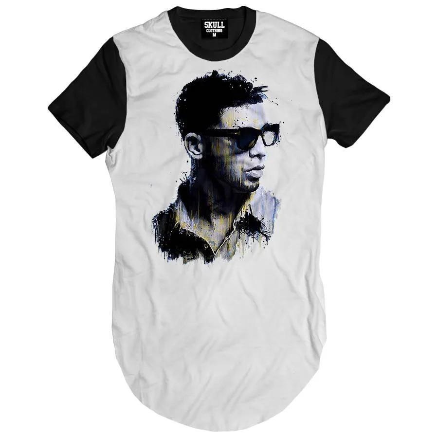 Camiseta Longline Drake Rapper