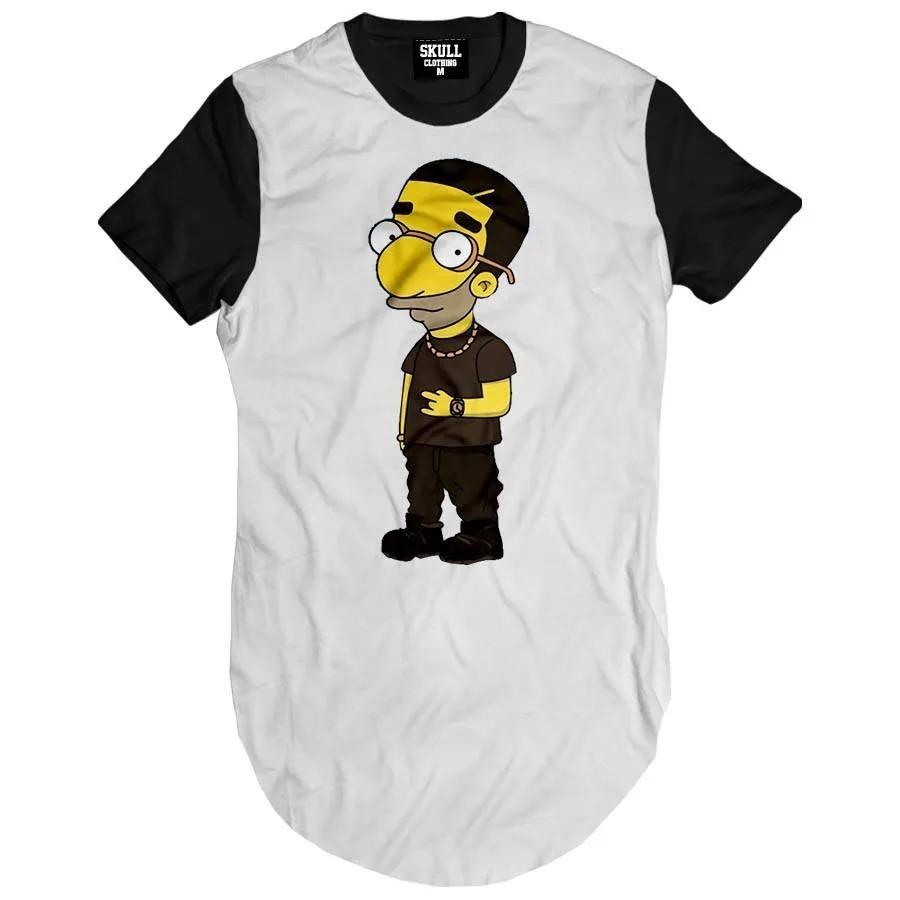 Camiseta Longline Drake Simpson