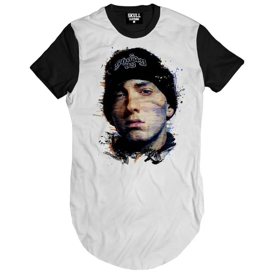 Camiseta Longline Eminem Slym Shady