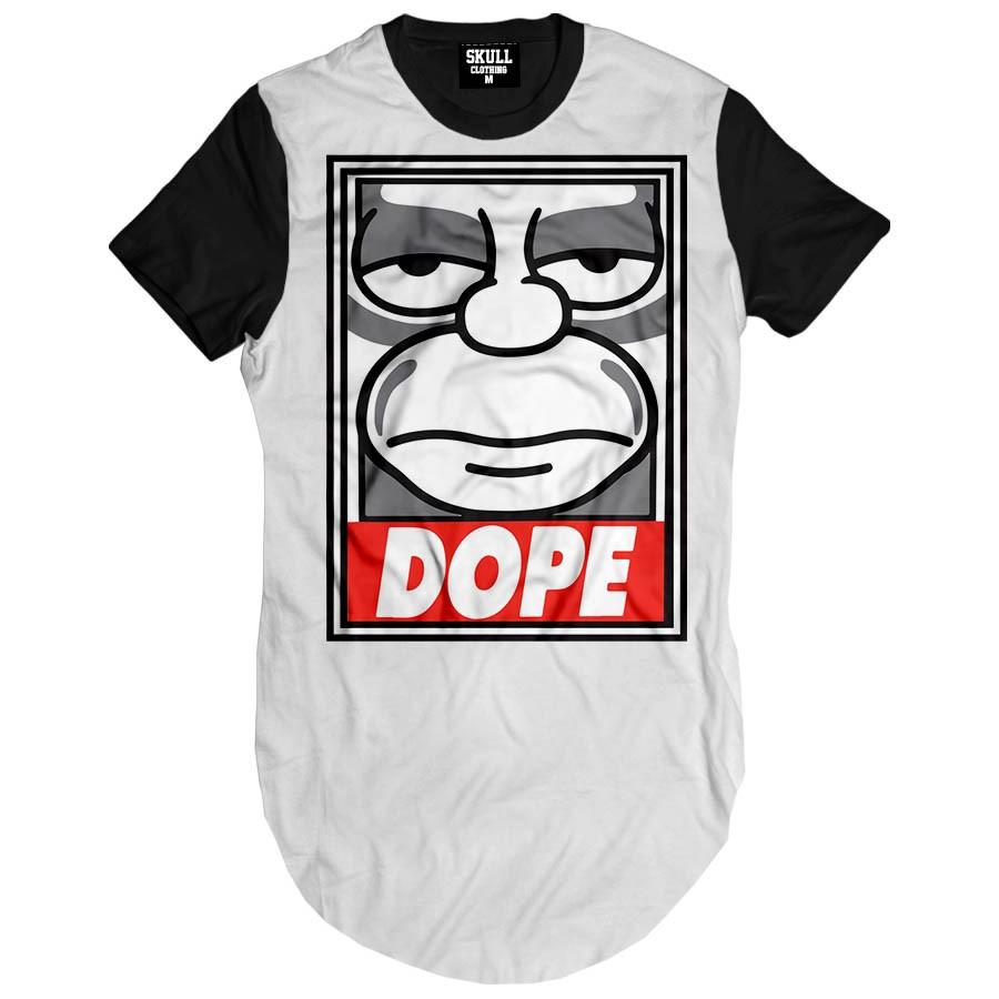 Camiseta Longline Hommer Dope