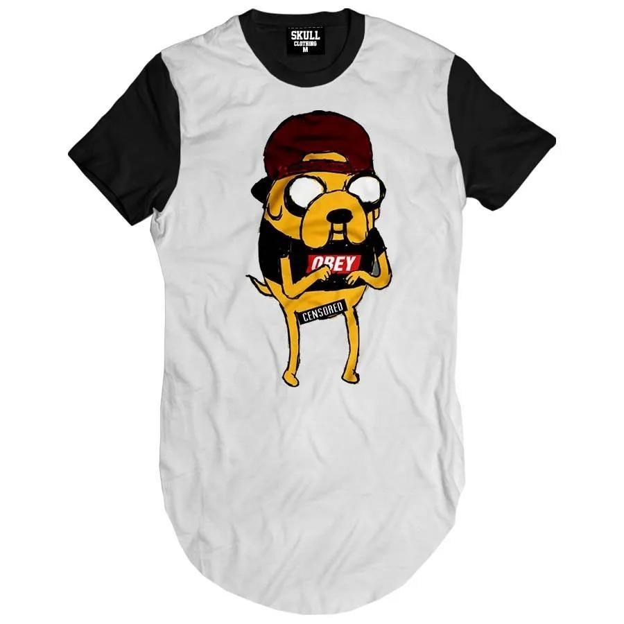 Camiseta Longline Jake Swag Adventure