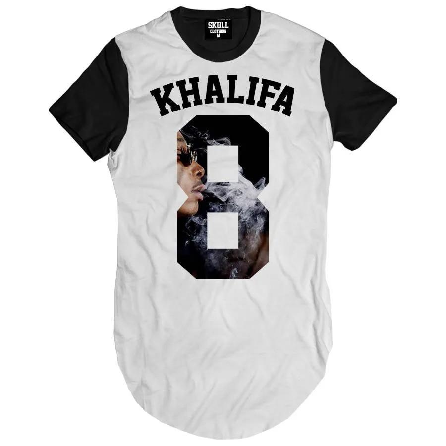 Camiseta Longline Khalifa 8