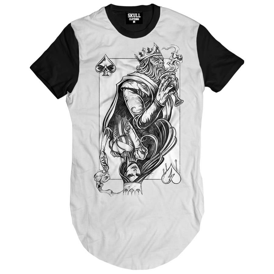 Camiseta Longline King and Queen