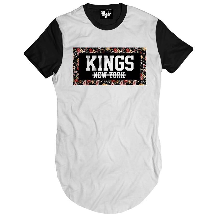 Camiseta Longline Kings New York