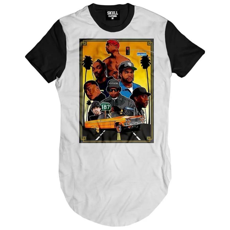 Camiseta Longline Kings of California