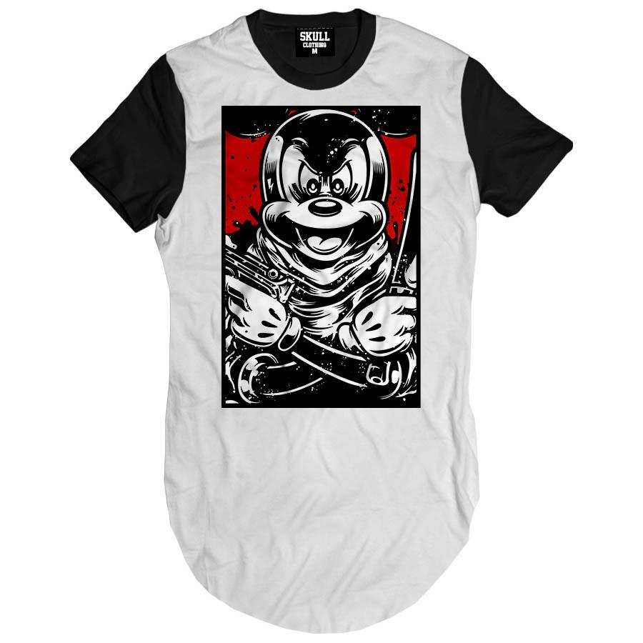 Camiseta Longline Mouse Thug