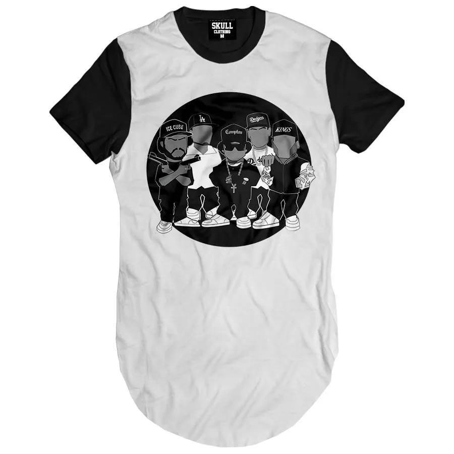 Camiseta Longline NWA