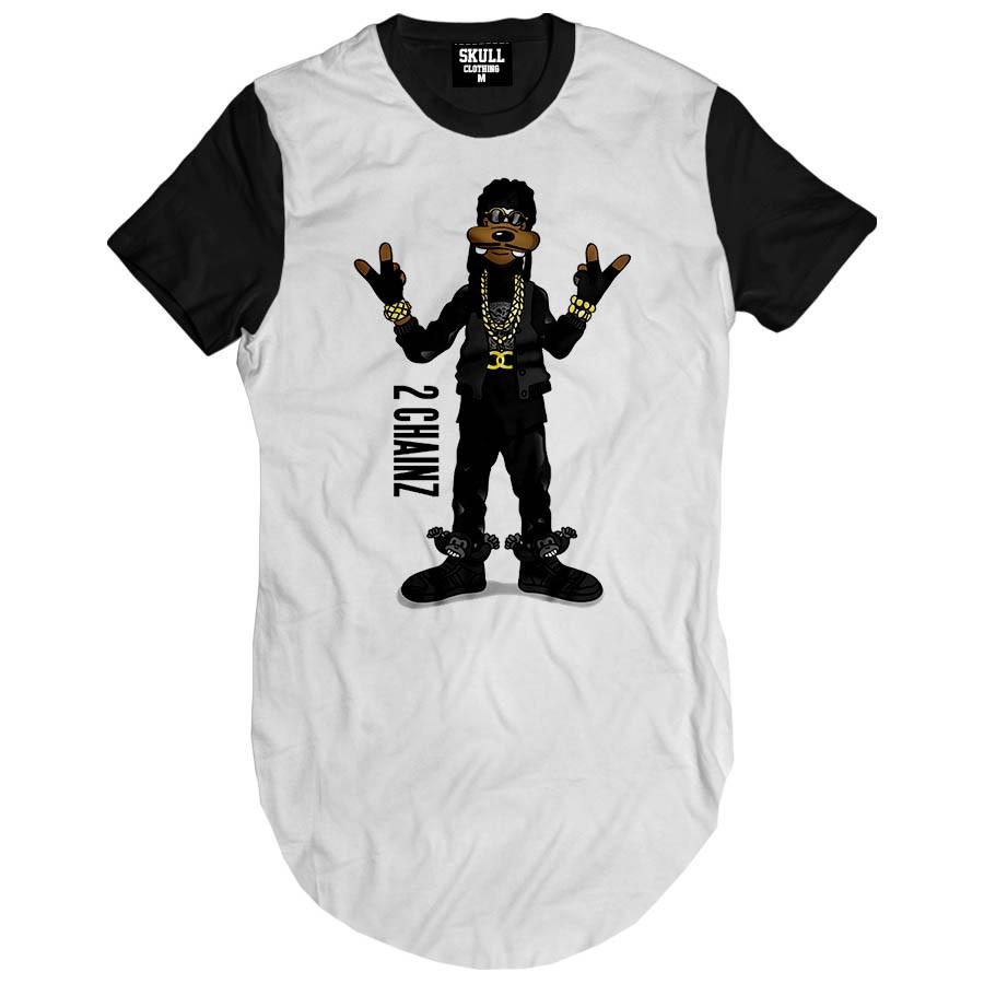 Camiseta Longline Pateta Rapper