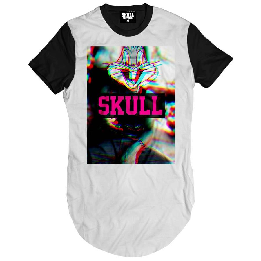 Camiseta Longline Pernalonga 3D