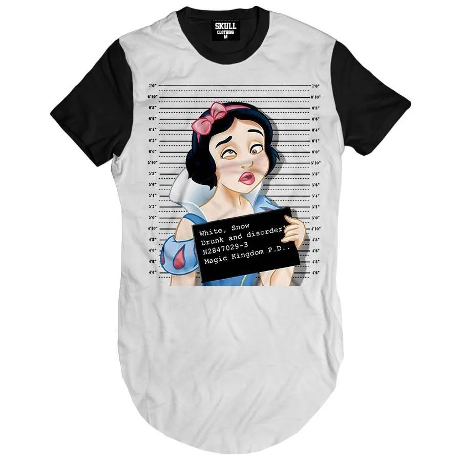Camiseta Longline Princess Busted