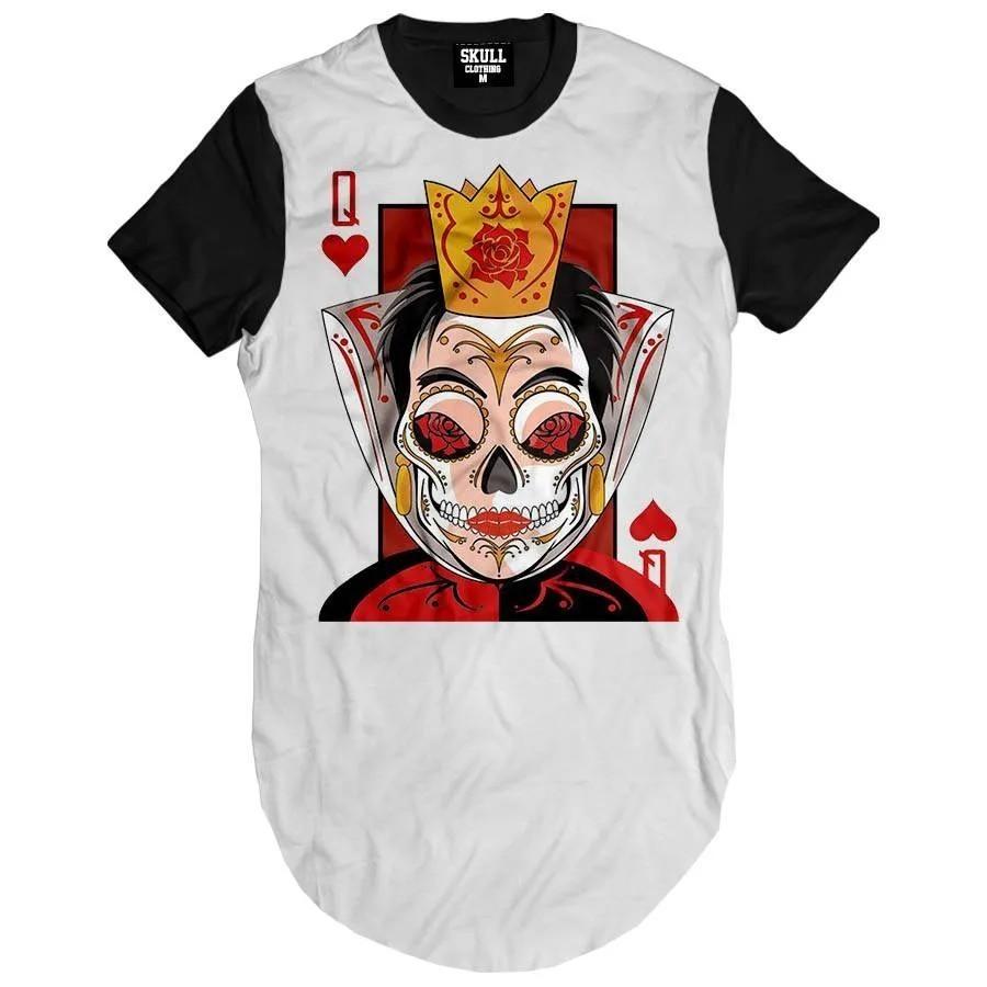 Camiseta Longline Queen
