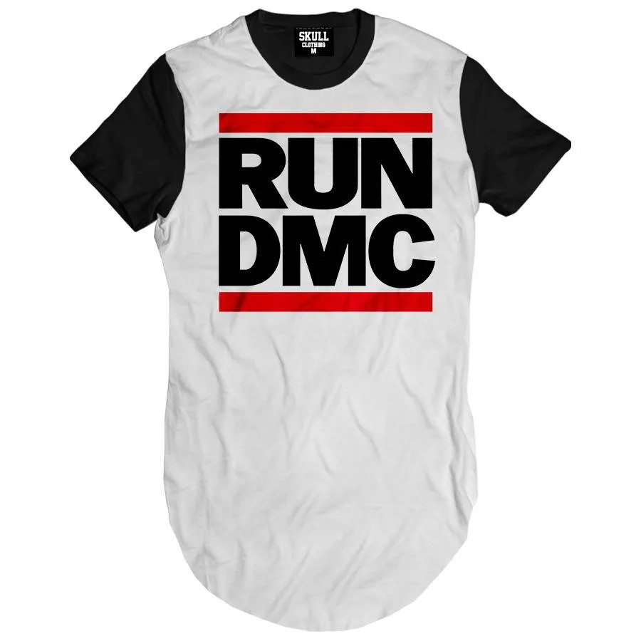 Camiseta Longline Run Dmc