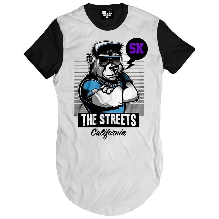 Camiseta Longline The Streets