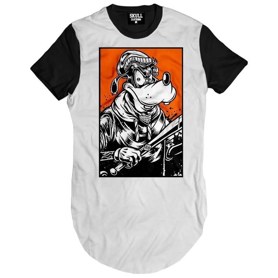 Camiseta Longline Thug Pateta