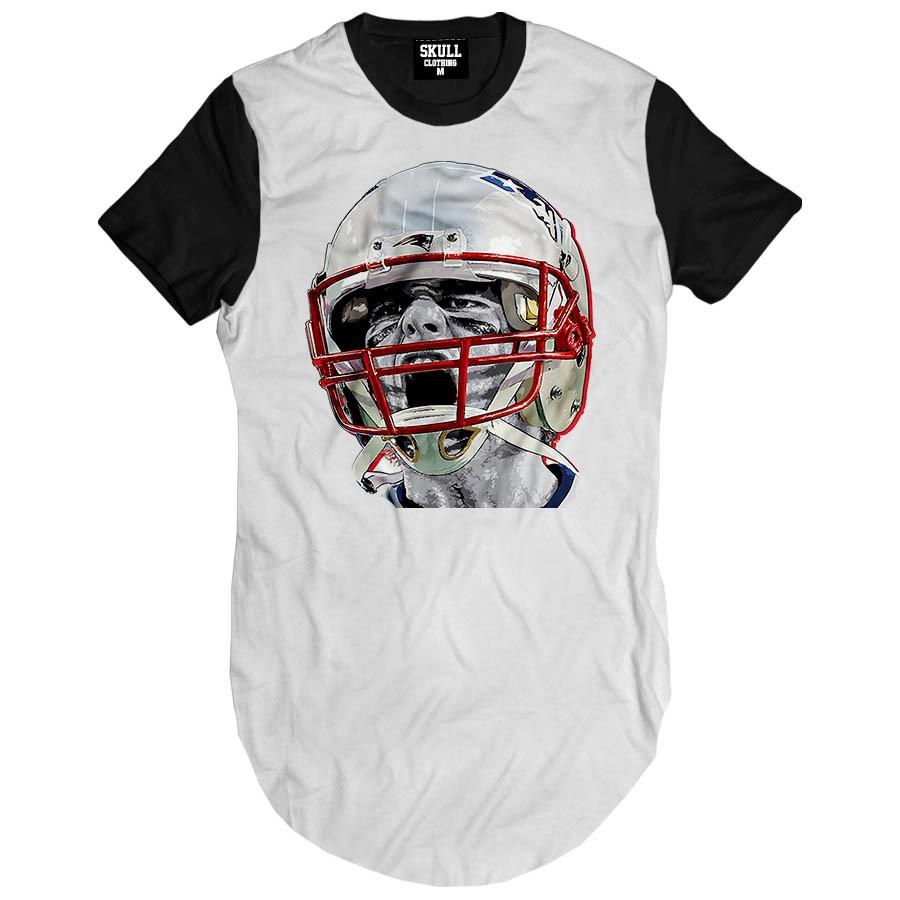 Camiseta Longline Tom Brad