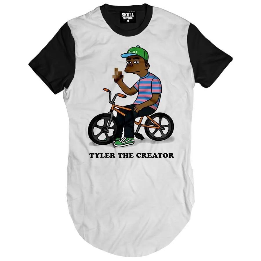 Camiseta Longline Tyler Simpson