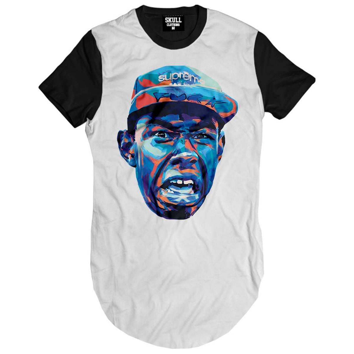 Camiseta Longline Tyler The Creator Art