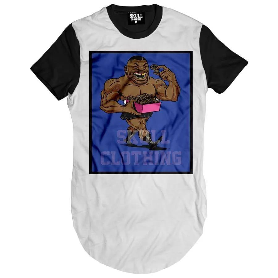Camiseta Longline Tyson Cartoon
