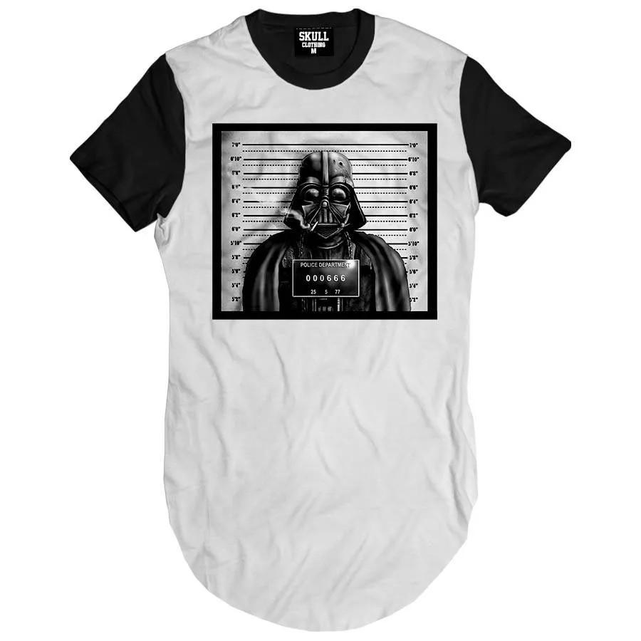 Camiseta Longline Vader Preso