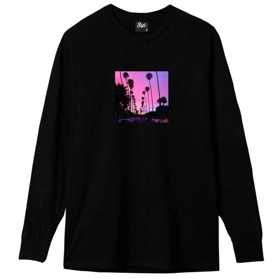 Camiseta Manga Longa Purple Sky