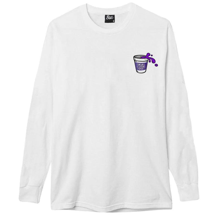 Camiseta Manga Longa Purpple Juice