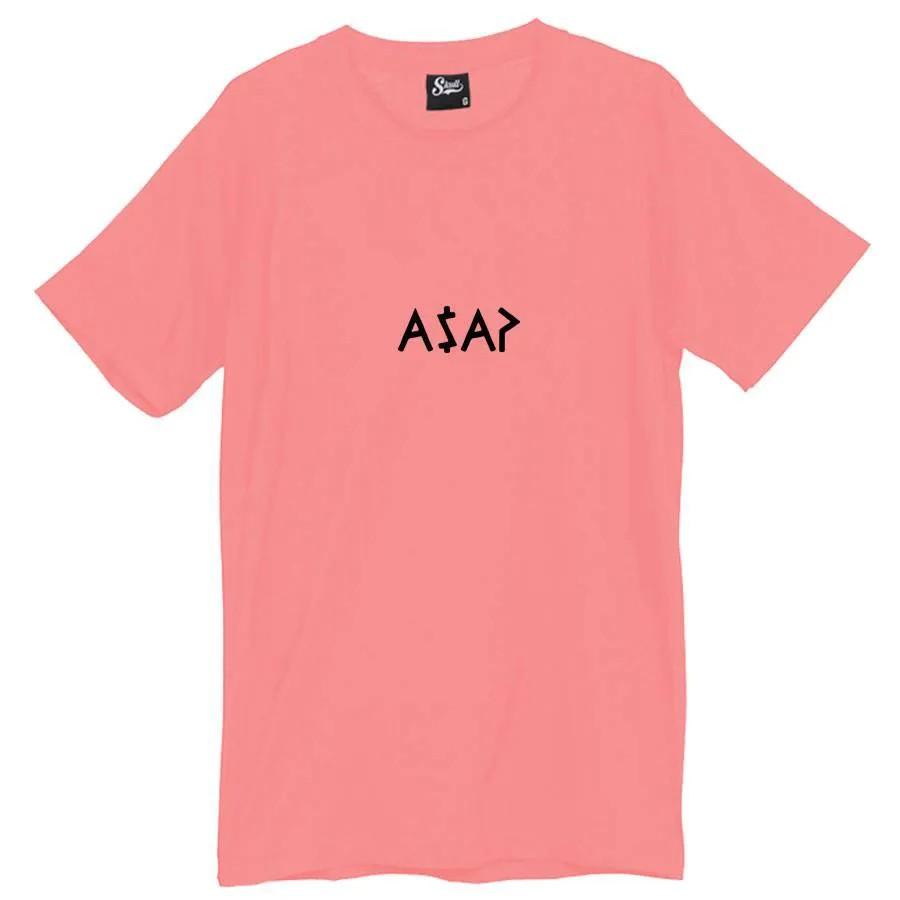 Camiseta Masculina ASAP Rosa