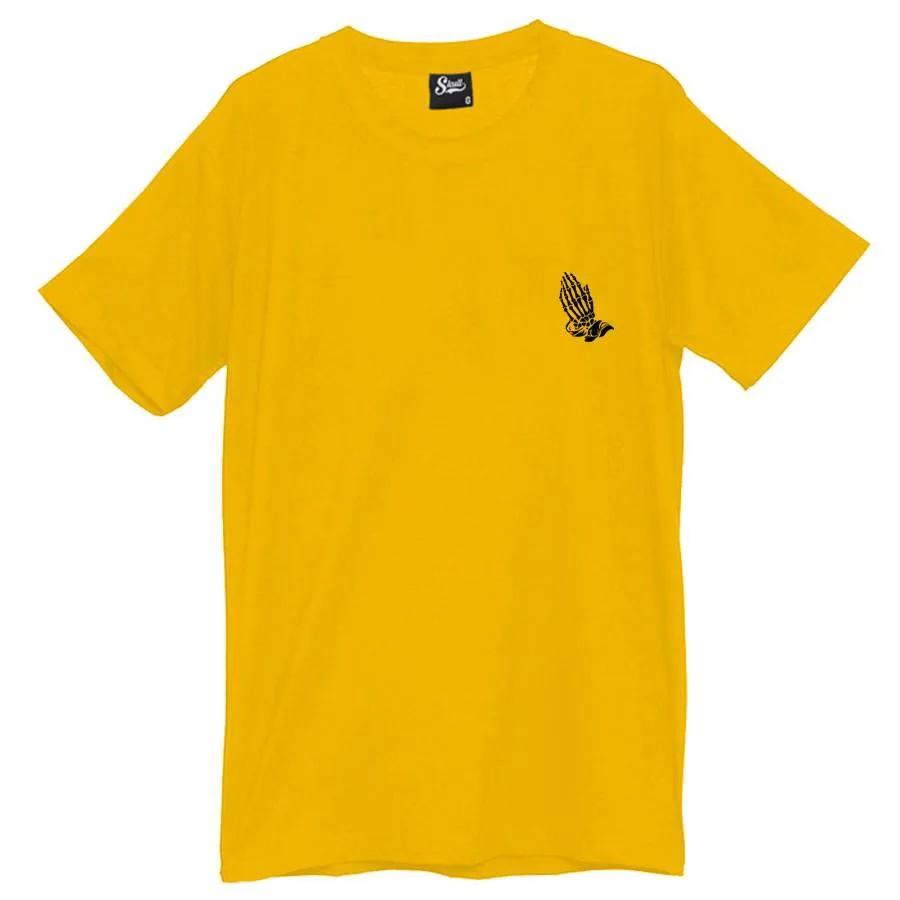 Camiseta Masculina Blessed Amarela