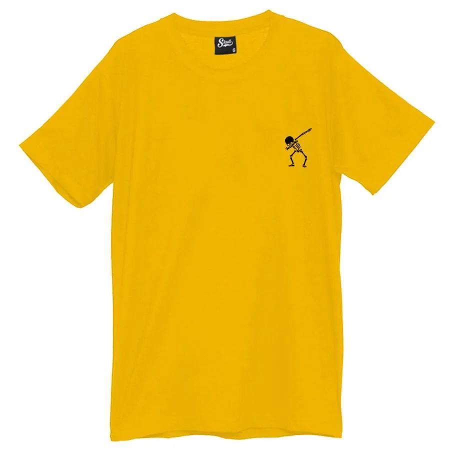Camiseta Masculina Dab Rap Amarela