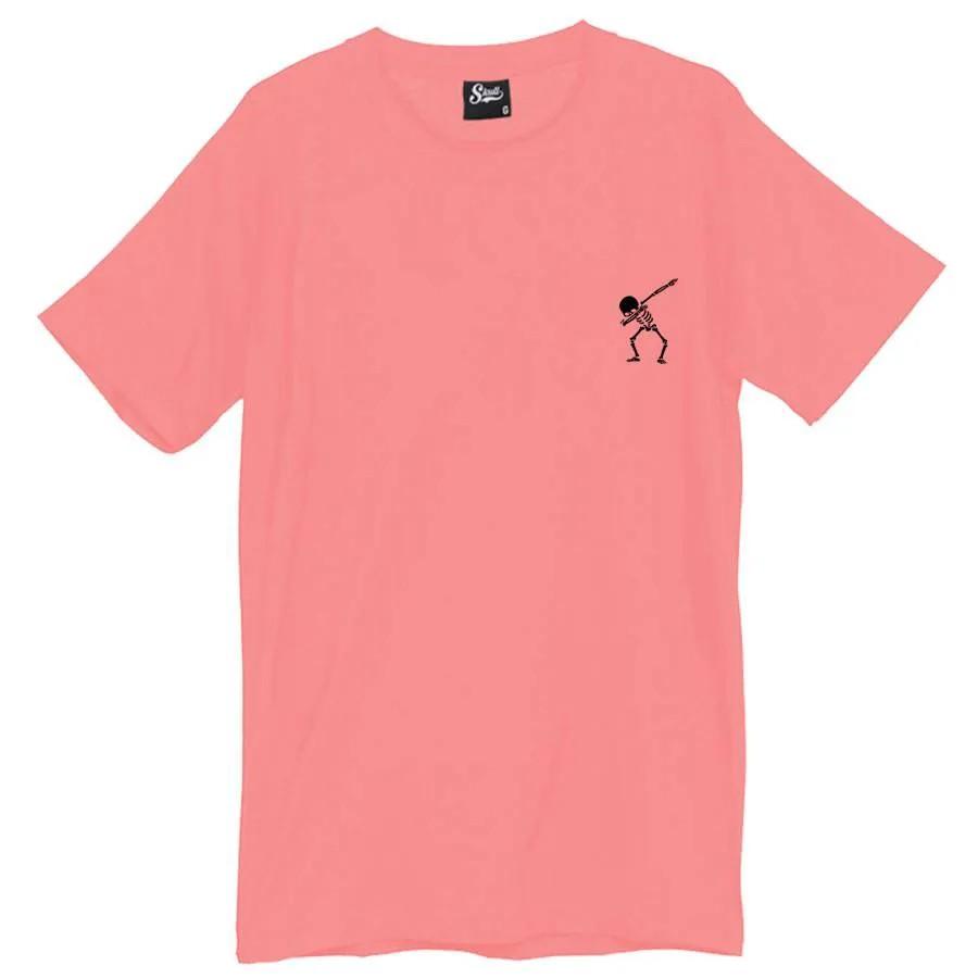 Camiseta Masculina Dab Rap Rosa