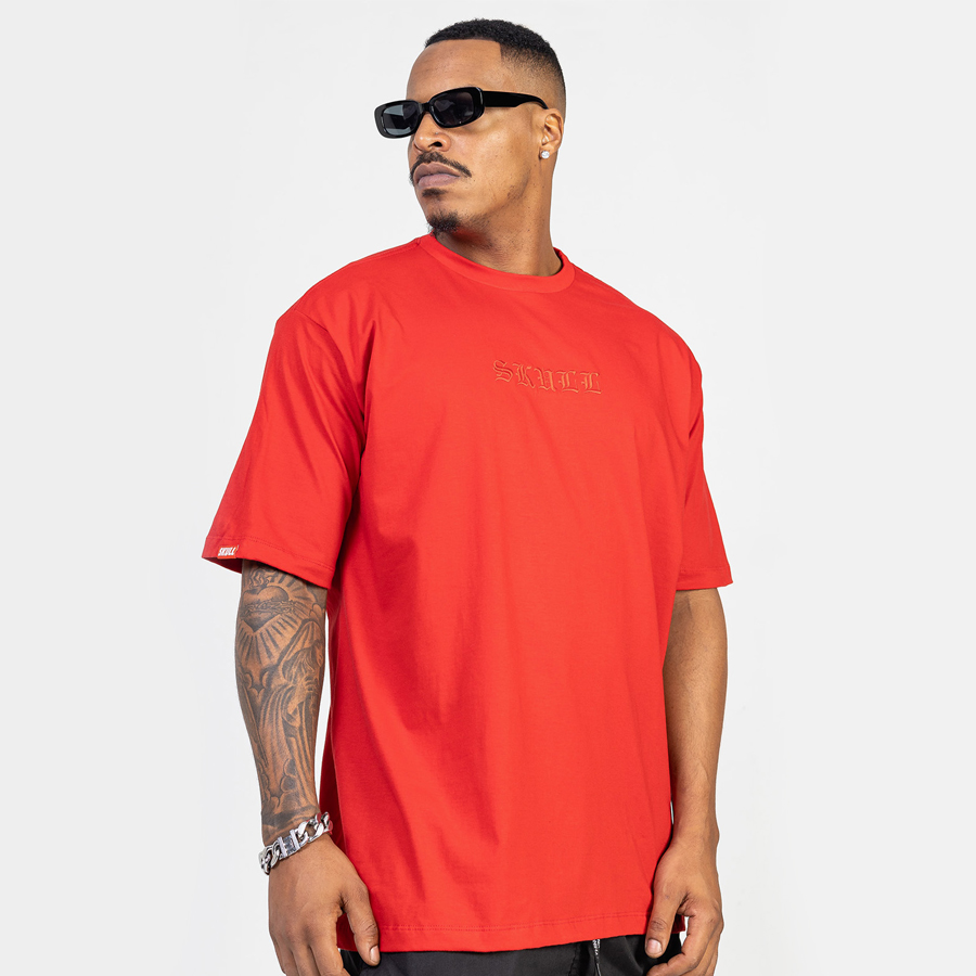 Camiseta Masculina Invisible Red