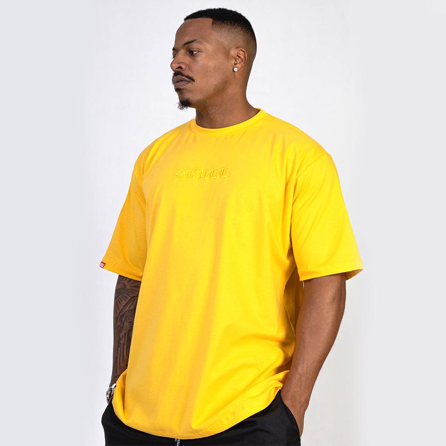 Camiseta Masculina Invisible Yellow