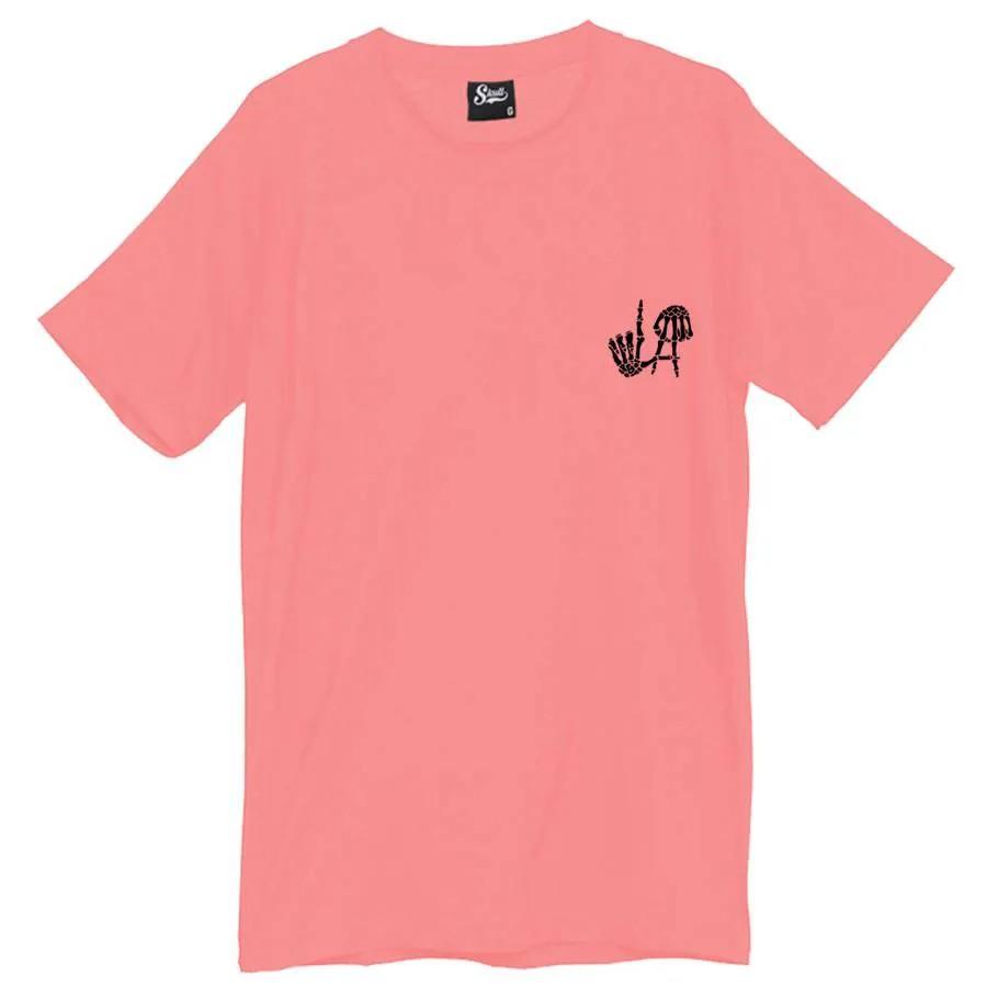 Camiseta Masculina Los Angeles LA Rosa