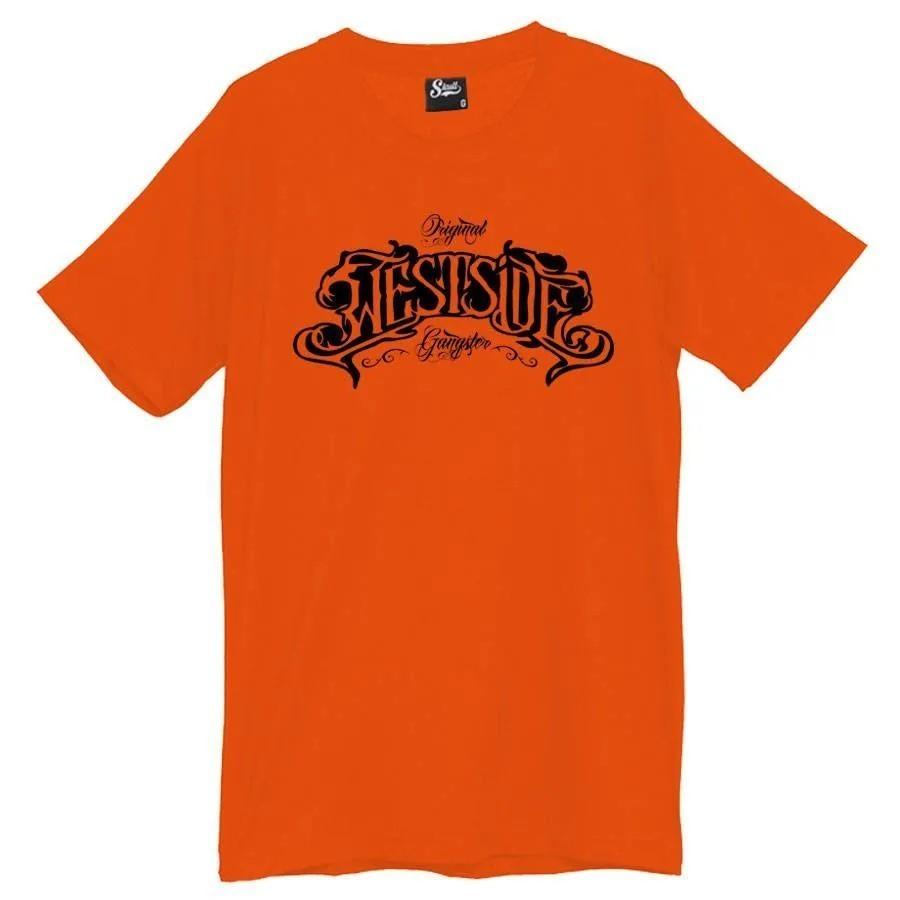 Camiseta Masculina West Side Laranja