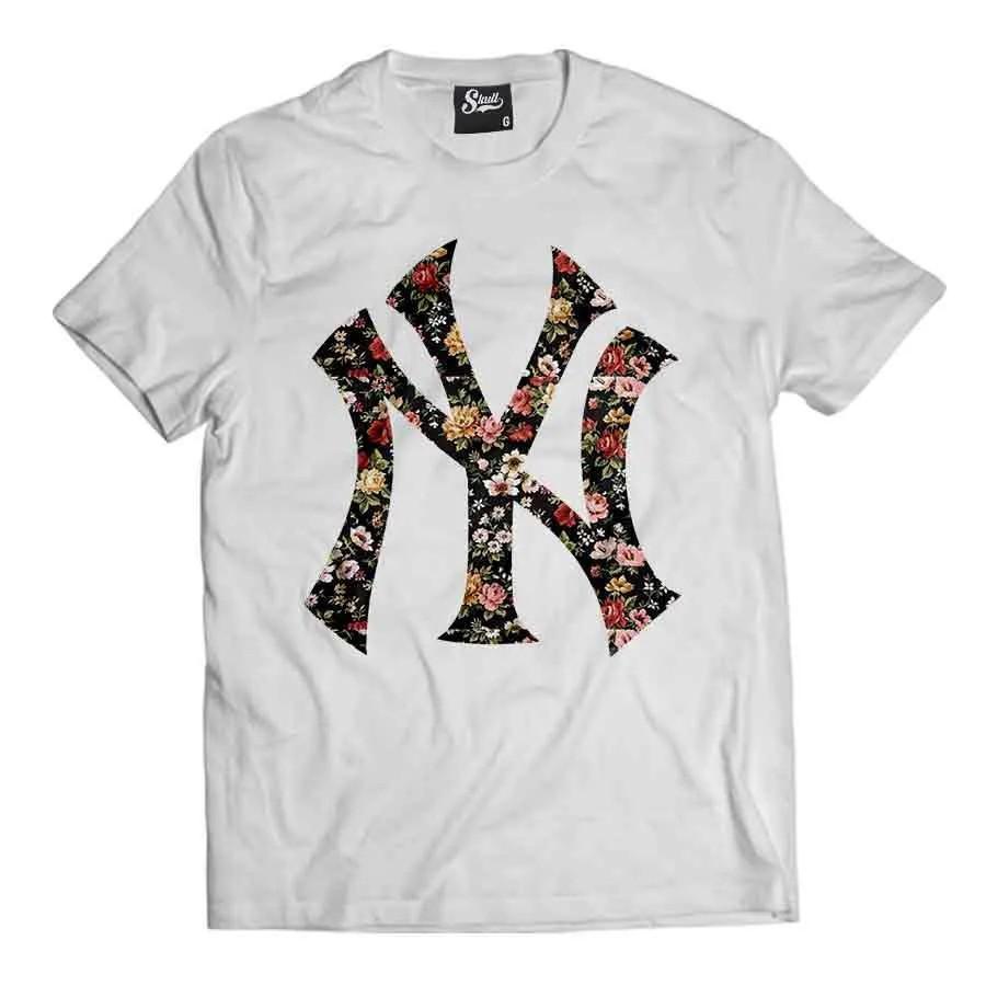 Camiseta NY Floral